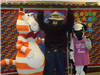 Fat Cat, Smokey the Bear, and Cow