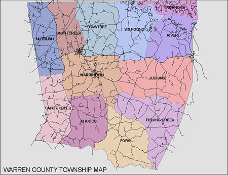 Warren County Township Map
