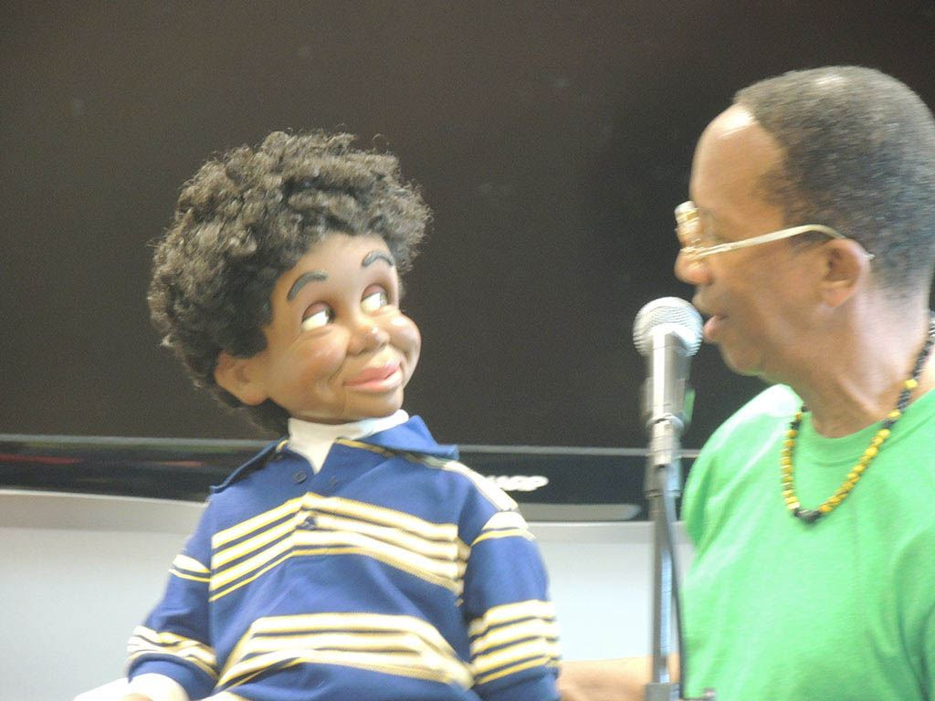 Tyrone with ventriloquist doll 4