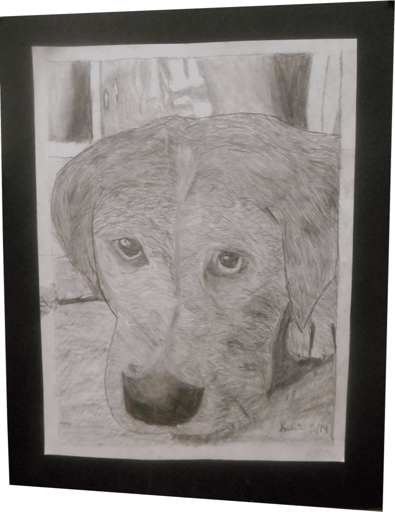 Artwork of dog