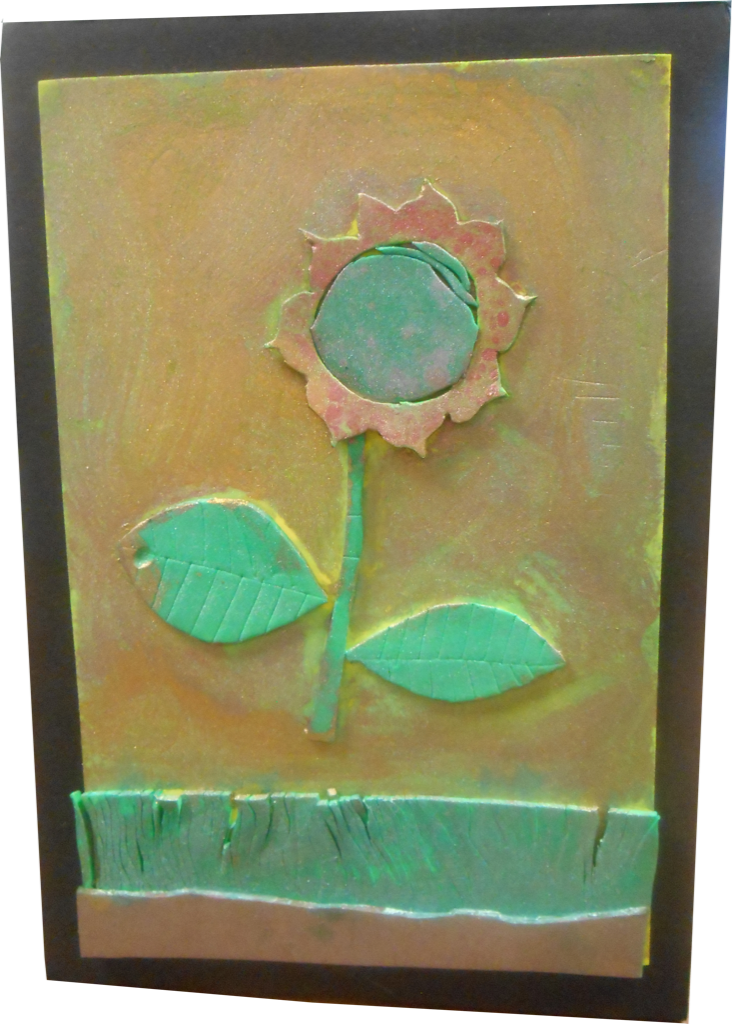 Artwork of sunflower