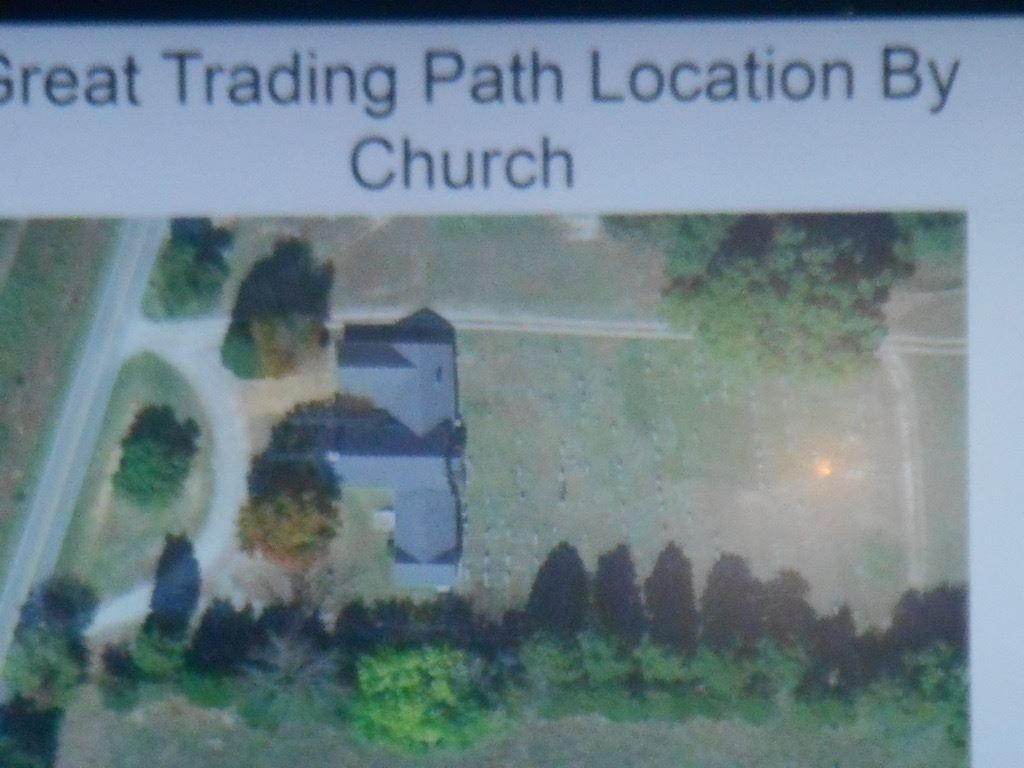 Great Trading path Location by Church slide