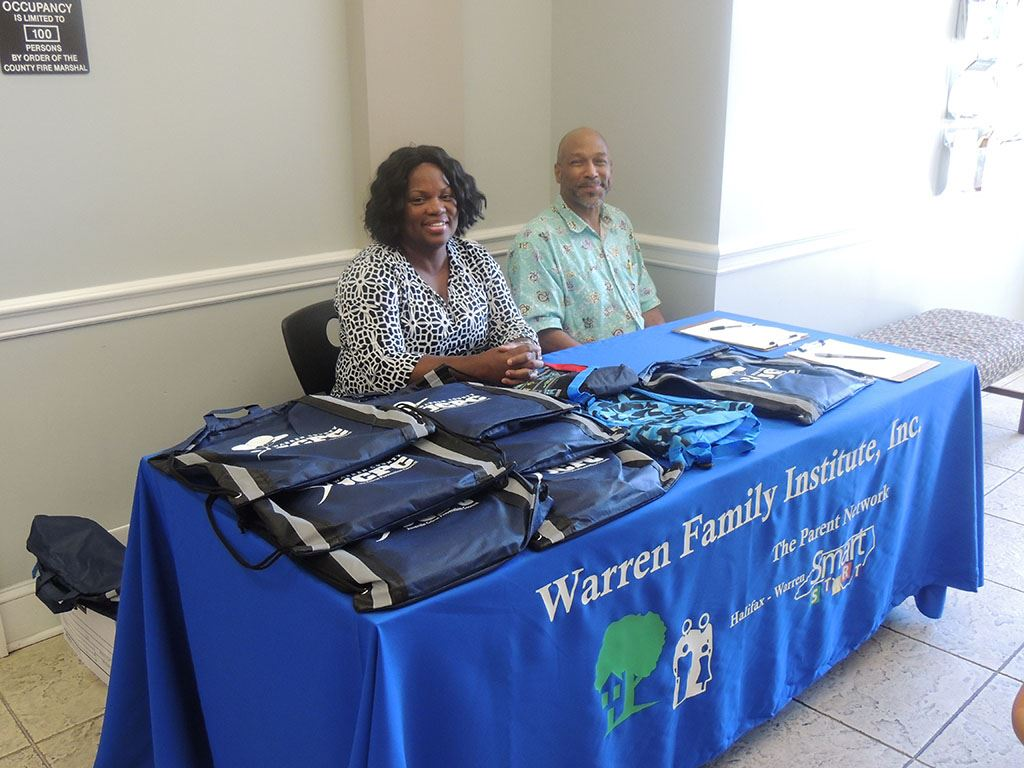 Warren Family Booth