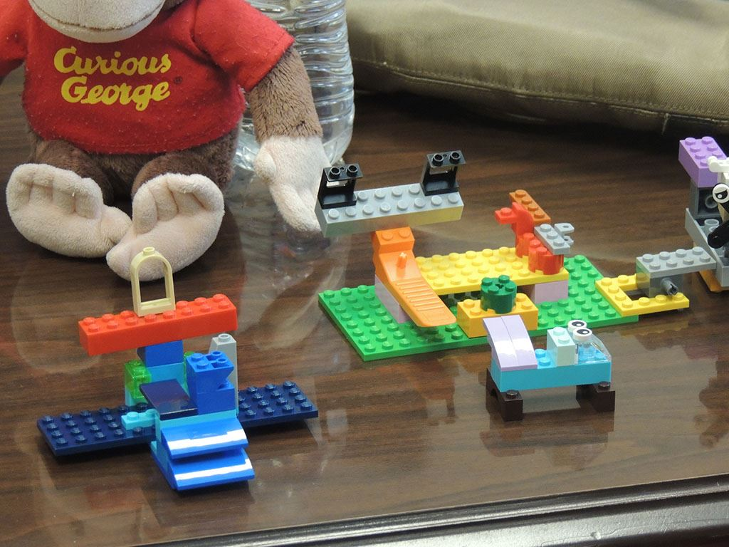 Group of lego constructions