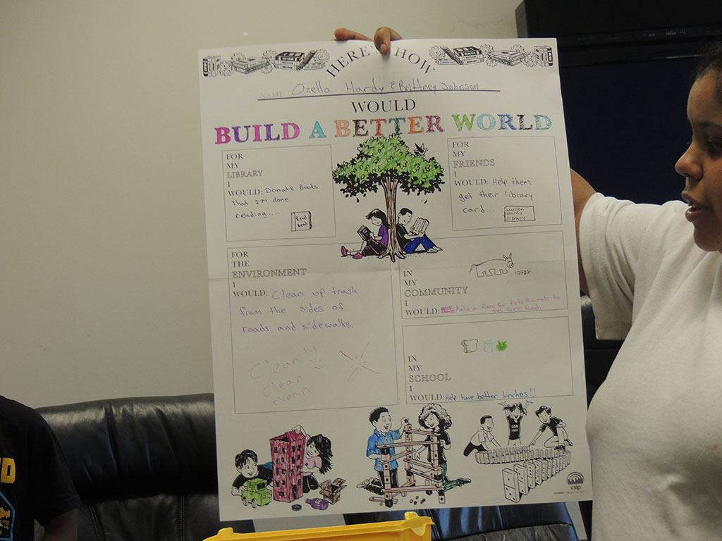 Build a better world poster